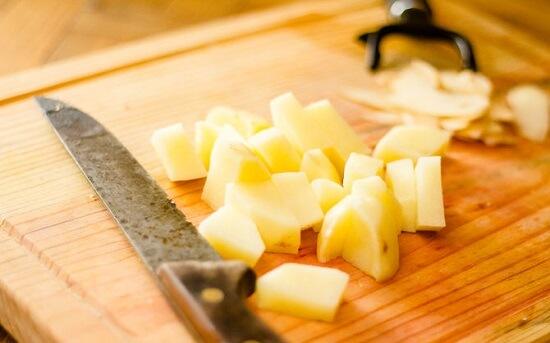 khoai tây thải nhỏ