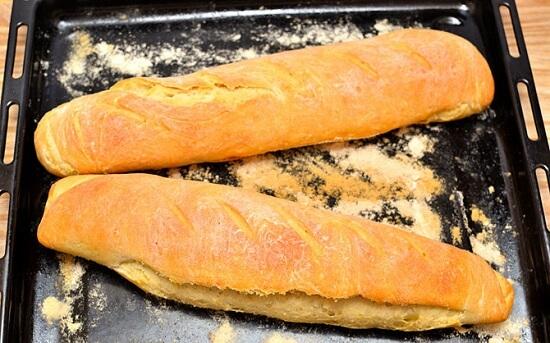 bánh mì que của Pháp