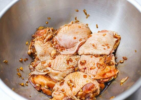 ướp thịt gà