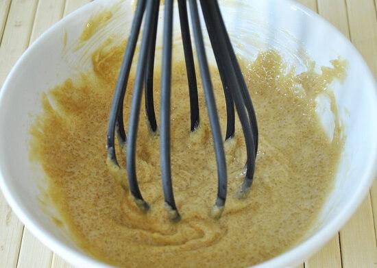 đánh tan hỗn hợp bơ