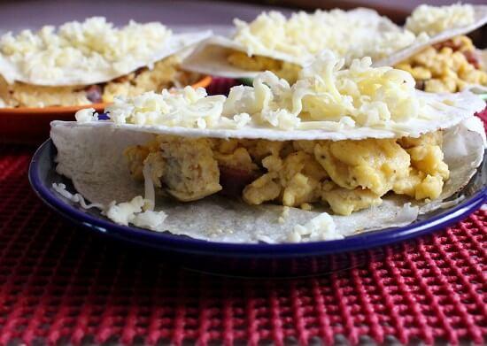 bánh trứng cay của Mexico