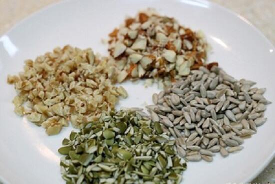 băm nhỏ các loại hạt