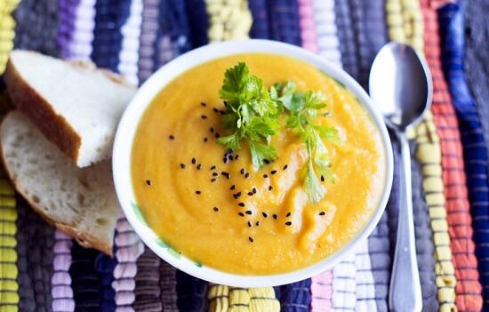 Kết quả hình ảnh cho súp bí đỏ khoai tây