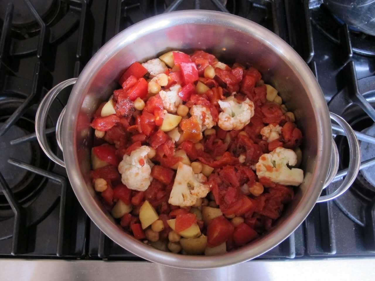 Cách làm rau củ hầm bột cà ri ngon cơm bữa tối 4