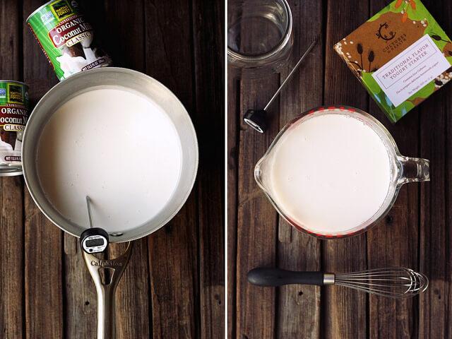 Cách làm sữa chua sữa dừa ngon lạ ngày hè 2