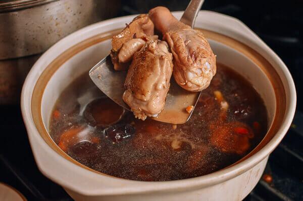 Cách làm súp gà bổ dưỡng tại nhà 6