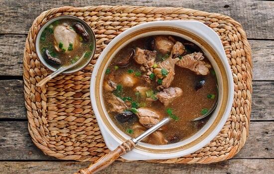 Cách làm súp gà bổ dưỡng tại nhà 7
