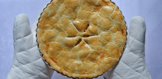 bánh táo chín