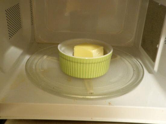 đun chảy bơ