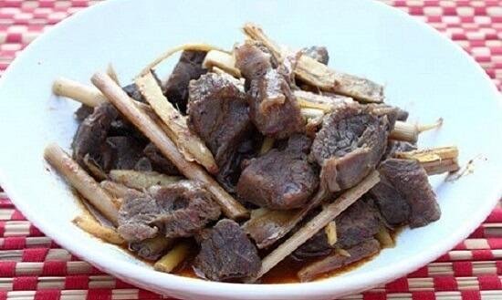 Cách làm thịt bò kho gừng sả ngon tuyệt