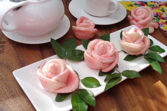 Lưu ý khi làm bánh bao hoa hồng