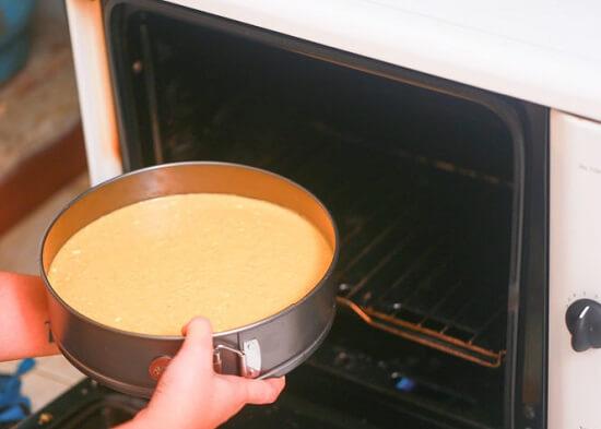 nướng bánh lần hai