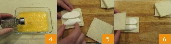 Cách làm bánh mì nướng pho mai 3