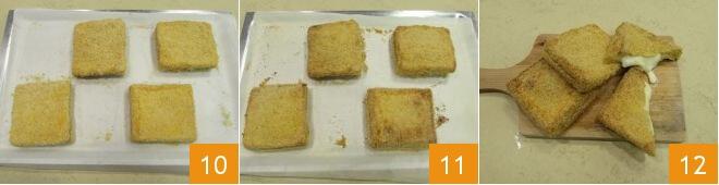 Cách làm bánh mì nướng pho mai 5
