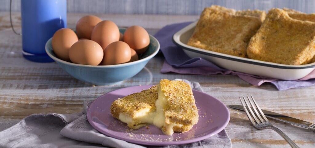 Cách làm bánh mì nướng pho mai 6