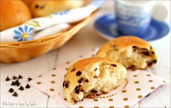 Cách làm bánh mì với sô cô la chip 6