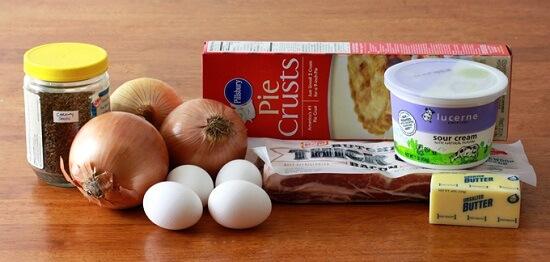 Cách làm bánh nướng hành tây siêu hấp dẫn 2