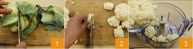 Cách làm pizza với đế bánh làm từ súp lơ 2
