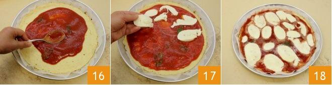 Cách làm pizza với đế bánh làm từ súp lơ