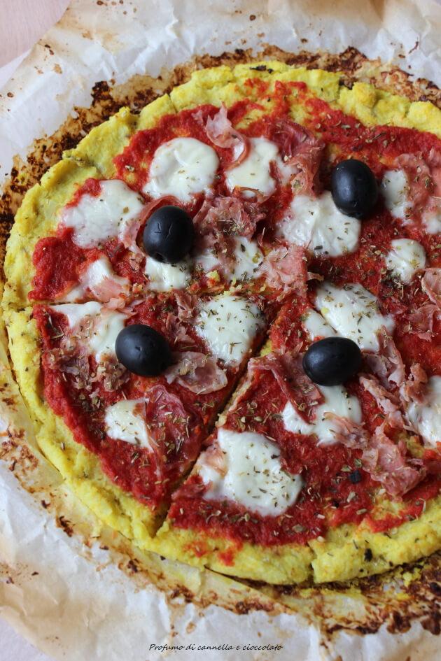 Cách làm pizza với đế bánh làm từ súp lơ 9