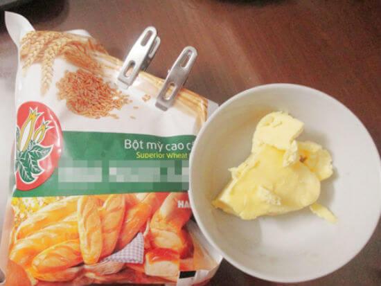 Nguyên liệu làm bánh táo
