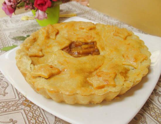Thưởng thức món bánh táo tuyệt ngon trong những ngày mưa