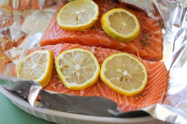 cách làm cá hồi nướng tiêu ngon cơm bữa tối tại nhà