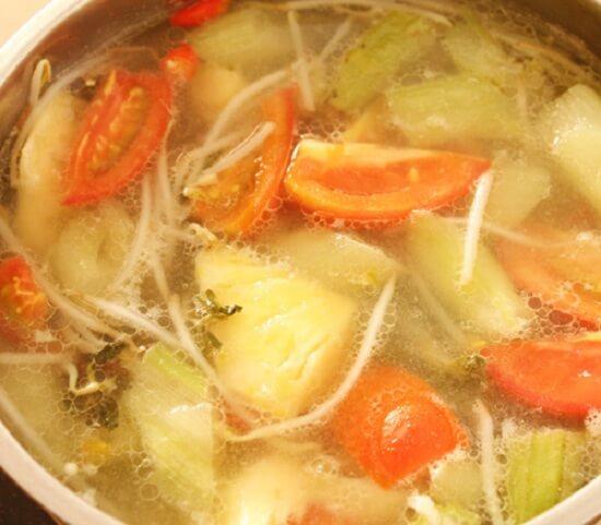 Các bước thực hiện món canh chua cá lóc 2