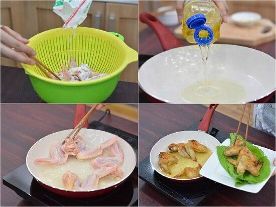 Cách làm cánh gà chiên nước mắm thơm ngon