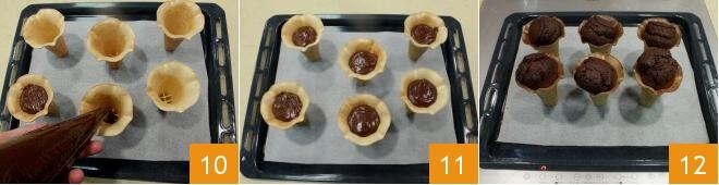 Cách làm cupcake ốc quế  6