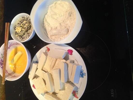 Cách làm đậu chiên xù vừng 3