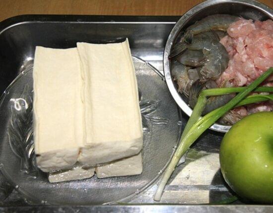 học Cách làm đậu hấp tôm thịt siêu tốc cho bữa tối