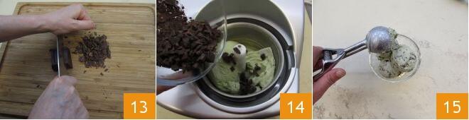 Cách làm kem bạc hà sô cô la ngay tại nhà 7
