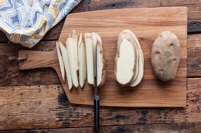 Thái khoai tây - Cách làm khoai tây chiên