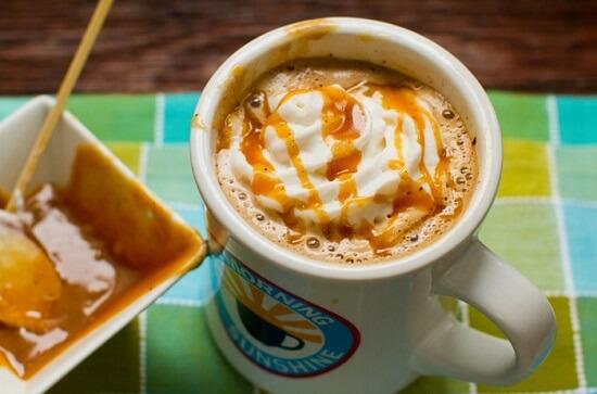 latte caramel thơm ngon