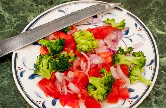 Cách làm bánh nướng rau trộn cho bé biếng ăn 2