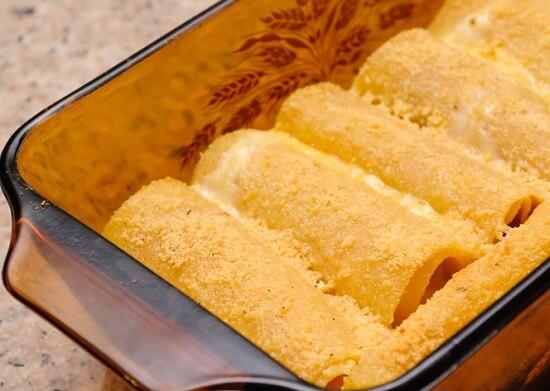 lasagan cuộn phô mai thơm ngon
