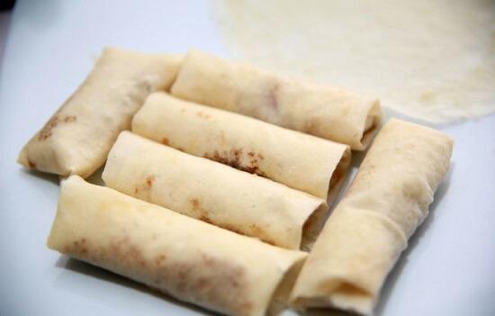 cuộn vỏ bánh