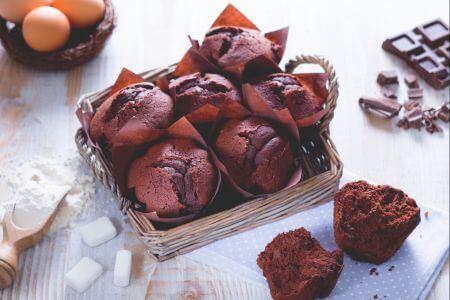 Cách làm muffin sô cô la 1