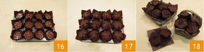 Cách làm muffin sô cô la 7