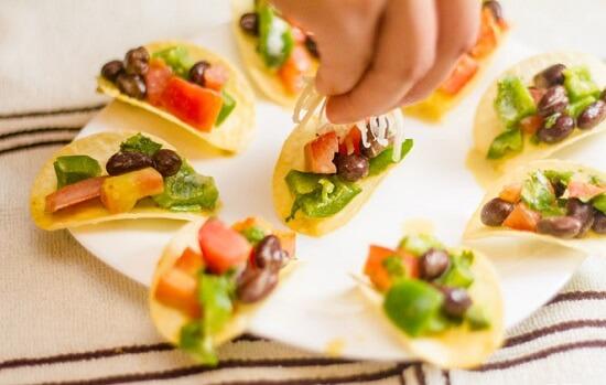 salad snack khoai tây thơm ngon