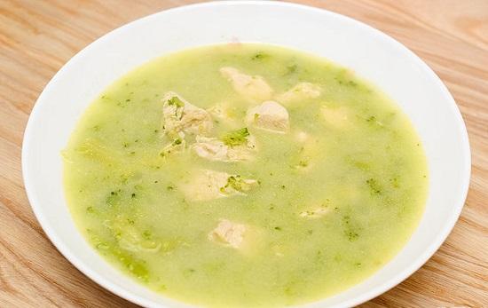 soup kem bông cải thơm ngon