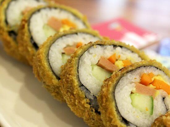 cách làm sushi chiên giòn,suchi chiên giòn, Cách làm sushi chiên giòn tan ăn là mê