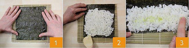 Cách làm Sushi Futomaki 1