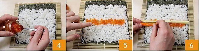 Cách làm Sushi Futomaki 3