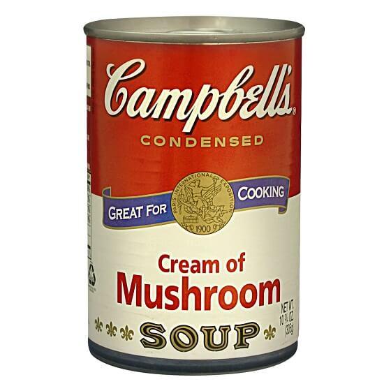 kem súp nấm