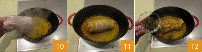 Cách làm thịt chân giò hầm kiểu Ý 6