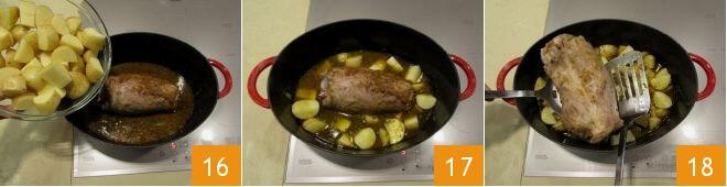 Cách làm thịt chân giò hầm kiểu Ý 9