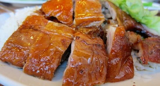 , Thịt vịt nướng chao đơn giản thơm ngon