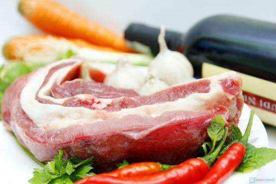 Nguyên liệu thực hiện cách nấu bò kho